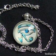 Joyeria: COLGANTE EGIPCIO, PLATA TIBETANA. Lote 110849627