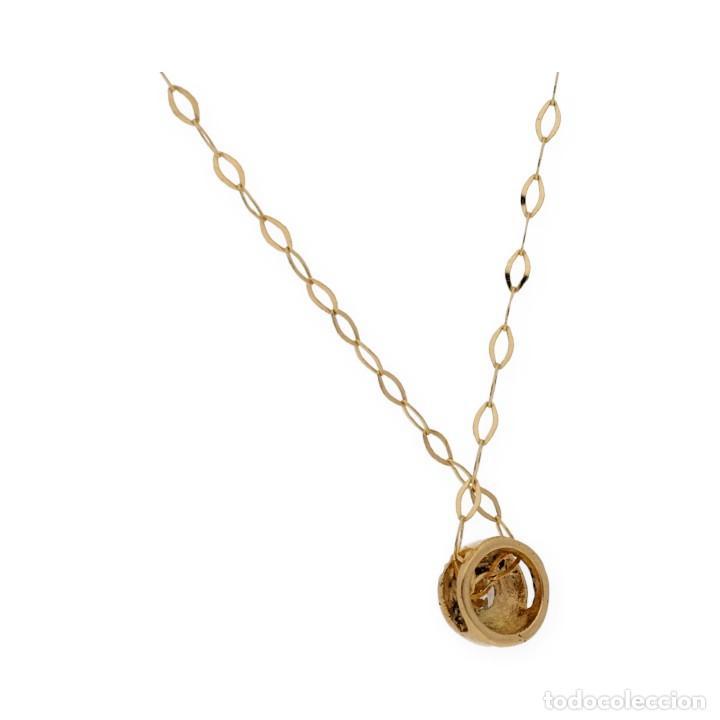 Joyeria: Collar y Colgante Diamante y Oro de Ley 18k - Foto 4 - 158815280