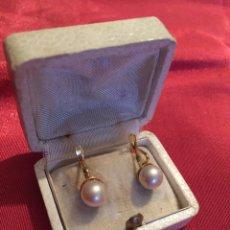 Joyeria - Bonitas perlas antiguas plaque en Oro - 124716464