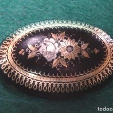 Joyeria: BROCHE ORO CAREY ANTIGUO. Lote 111579071