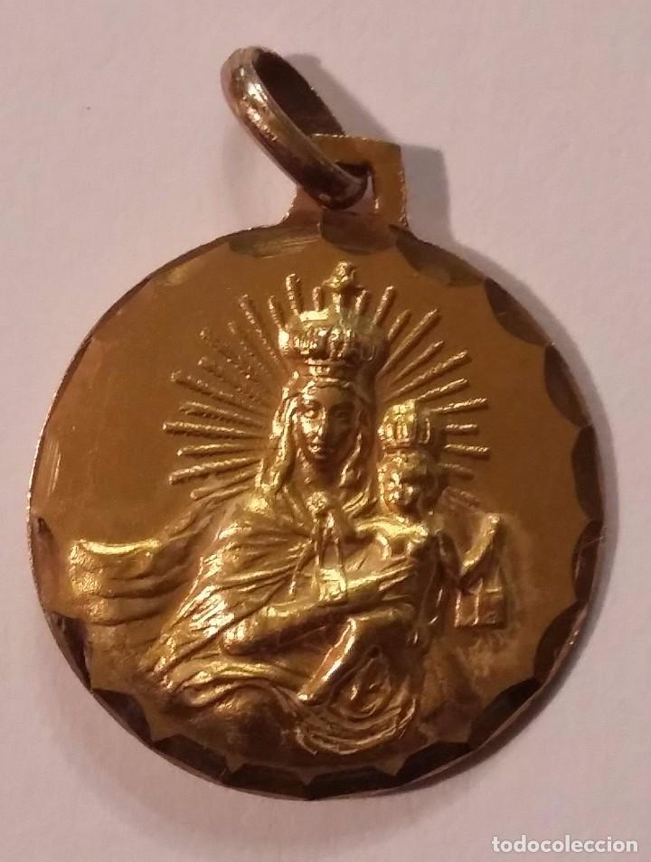 25d822273 medalla escapulario oro - Comprar Objetos Joyería Antigua en ...