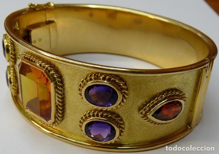 Joyeria: Pulsera Brazalete de Oro macizo de 18K - Foto 4 - 111768255