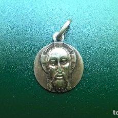 Joyeria: MEDALLA IMAGEN CRISTO ROMANICO-PLATA RELIEVE. Lote 112112275