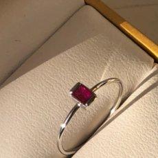 Joyeria: ANILLO MODELO SLIZAR LIGHT ORO 18K RUBY NATURAL. Lote 112478504