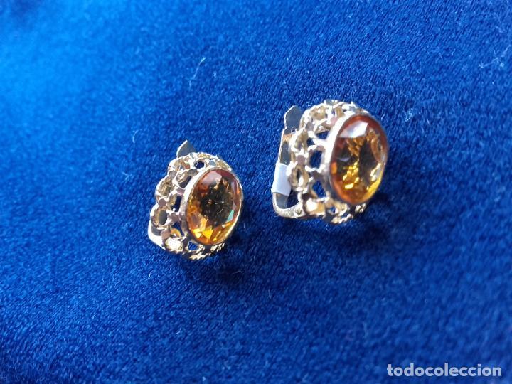 Joyeria: Pendientes de oro y citrinas - Foto 2 - 112534243