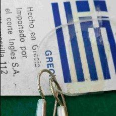 Joyeria: PENDIENTES DE PLATA, DE GRECIA. AÑOS 90. SIN USAR. ENVÍO: 1,30 € *.. Lote 112627343