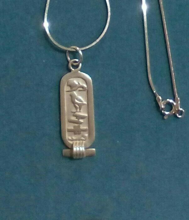 Joyeria: Colgante plata egipcio - Foto 2 - 112662295