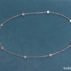 Gargantilla con estrellas plata 925