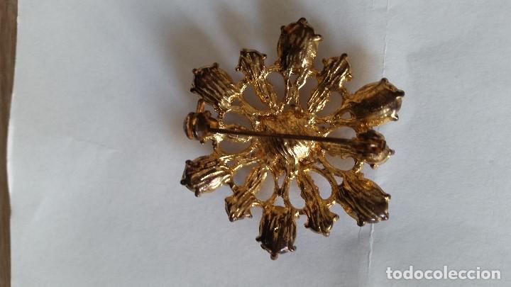 Joyeria: Explendido y antiguio Broche anos 30,40 hecho em metal y pedrita Zircone - Foto 5 - 112831575