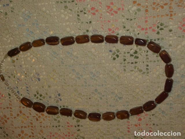 Joyeria: COLLAR PEDRERIA HIERRO DE TIGRE. - Foto 4 - 112860015