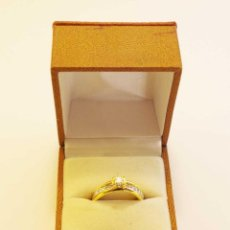 Joyeria - Anillo de oro con diamantes italiano marca Bizzarro, original con certificado. - 113025407