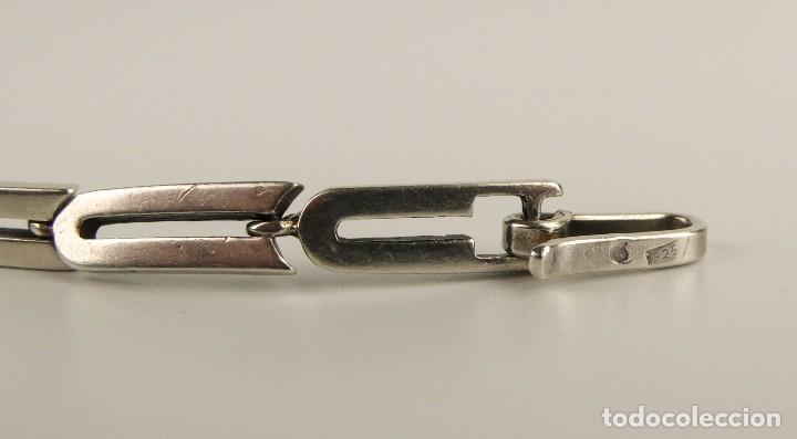 Joyeria: Pulsera de plata (contraste 925) - S.XX - Foto 4 - 113539287