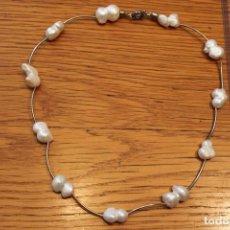 Jewelry - Collar de plata con madre perla. - 113697991