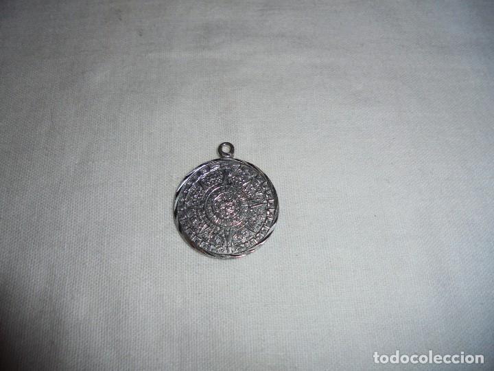 Joyeria: MEDALLA CALENDARIO SOLAR AZTECA CUÑADO 925 MEXICO Y GF01 - Foto 2 - 113720675