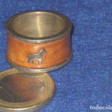 Joyeria: ANTIGUO ANILLO DE PLATA 925,EL CABALLO.. Lote 114189703