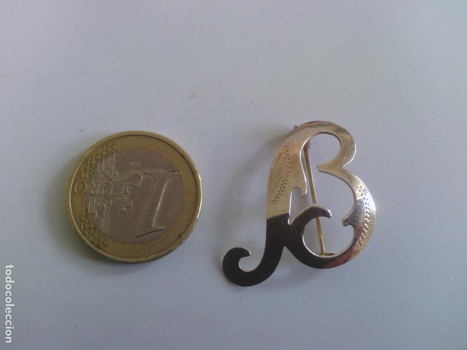 Joyeria: Broche letra B en 800 plata - Foto 6 - 114522399