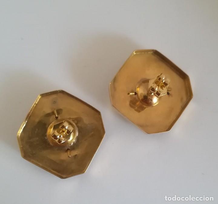 Joyeria: Pendientes S.XIX principios realizados en oro de 18k y perlas - Foto 4 - 114829987