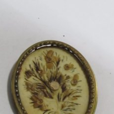 Joyeria: BROCHE BASE DE NACAR ANTIGUO. Lote 115217723