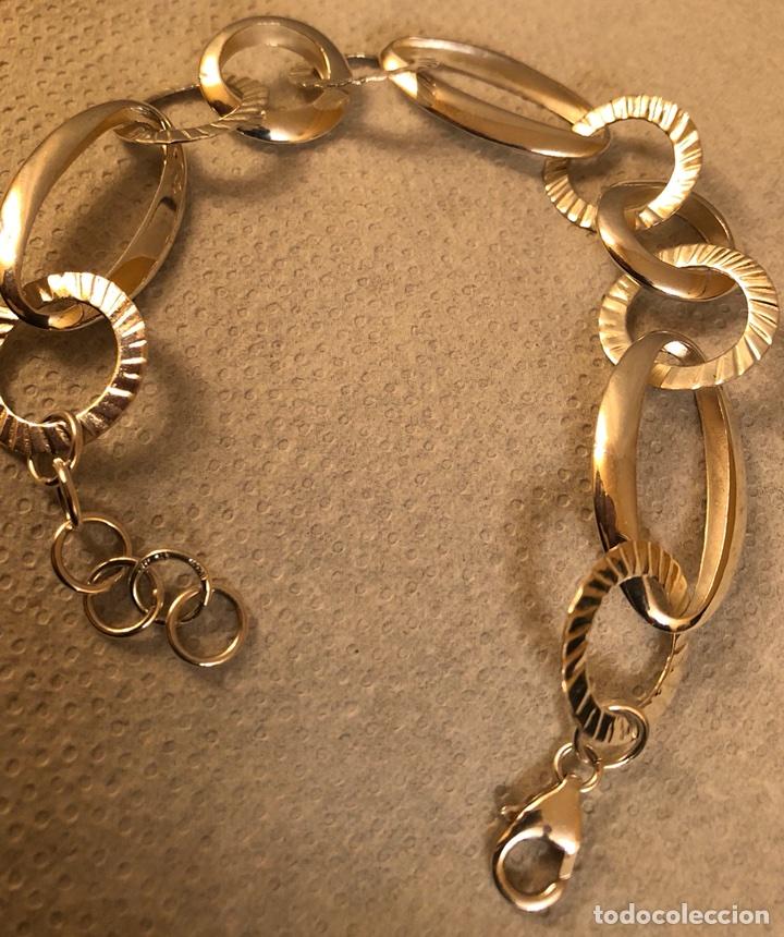 Joyeria: Preciosa pulsera de plata, de diseño - Foto 2 - 115245902