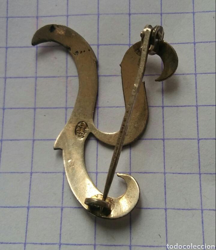 Joyeria: Broche antigua - letra Y - 800 plata - Foto 2 - 115276444