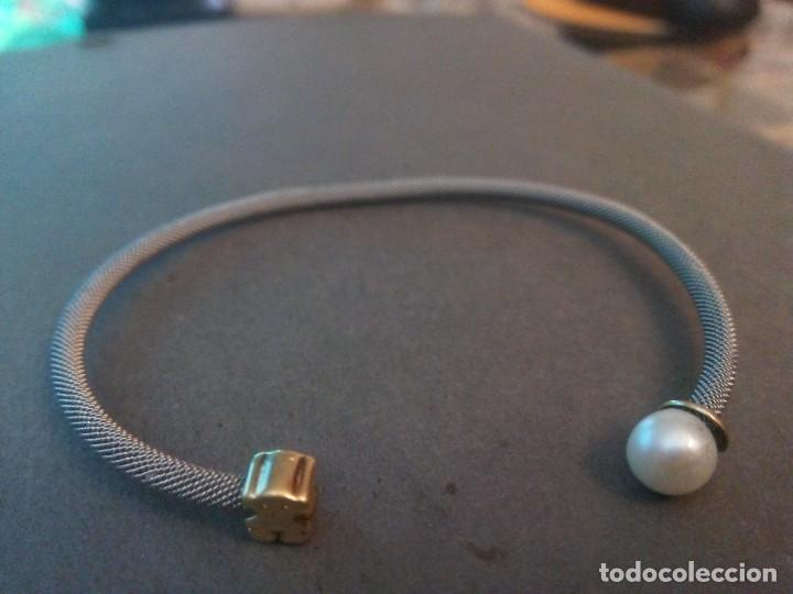 594889aeb84c Pulsera tous icon mesh de acero y oro con perla - Vendido en Subasta ...