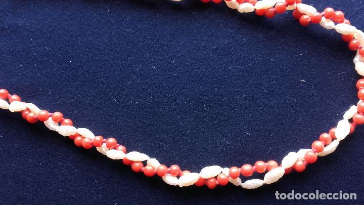 Joyeria: Collar coral y perlas - Foto 2 - 115586611