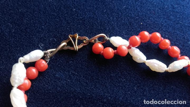Joyeria: Collar coral y perlas - Foto 6 - 115586611