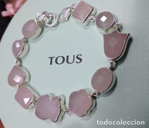 68e356daef11 Tous pulsera tous plata cuarzo rosa - Sold through Direct Sale ...
