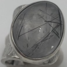 Jewelry - ANILLO PLATA CON CUARZO RUTILADO, ORFEBRERÍA SIGLO XXI - 116462903