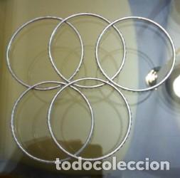 LOTE DE 5 PULSERAS VINTAGE (Joyería - Pulseras Antiguas)