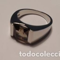 Jewelry - anillo de plata de ley 925 y cuarzo ahumado - 116821635