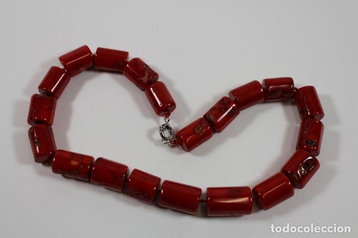 Joyeria: Collar coral rojo - Foto 5 - 116879919