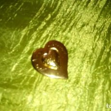 Joyeria: VTG BROCHE CORAZON DE YVES SAINT LAURENT DE LOS 70. FIRMADO YSL MADE IN FRANCE. AUTENTICO. Lote 116958183