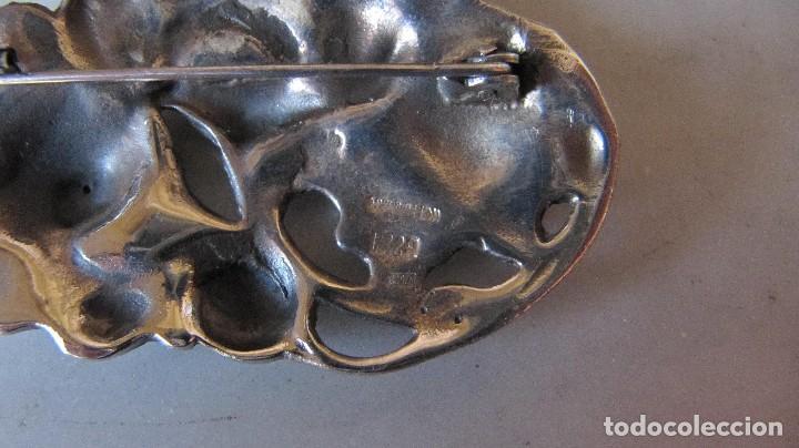 Joyeria: gran broche plata de estilo modernista - Foto 3 - 118651587