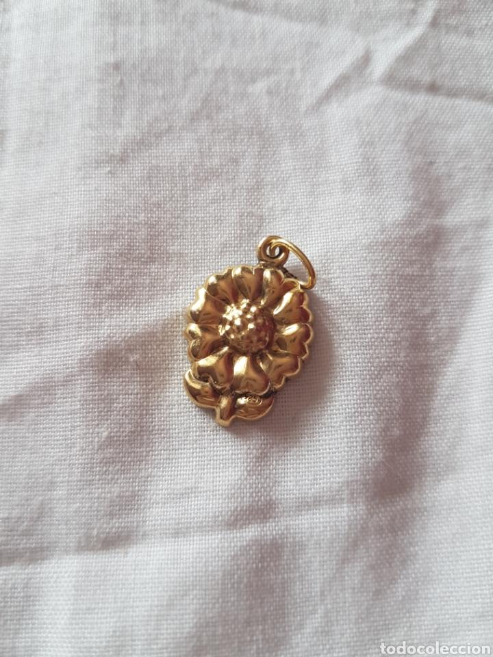 Joyeria: lote de 4 colgantes de plata dorada 925 - Foto 2 - 119407779