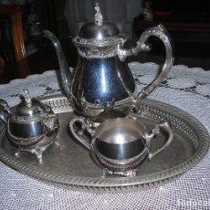 Joyeria: JUEGO DE CAFE ONEIDA SILVERSMITHS (USA) DE 1968.. Lote 119459279