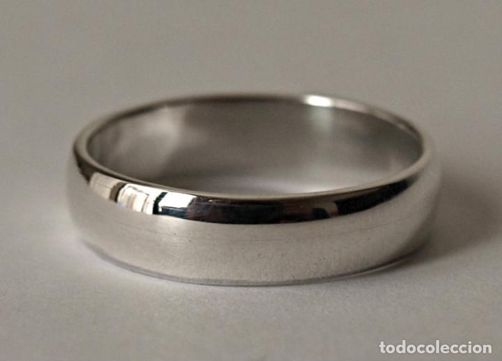 97f8bb288baf anillo tipo alianza de plata de ley contrastada - Comprar Anillos ...
