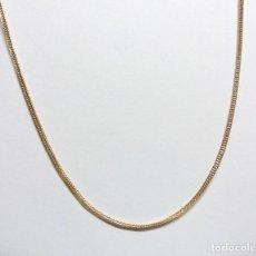 Joyeria: CADENA DE PLATA DE LEY CHAPADA EN ORO (50 CM.). Lote 119564303