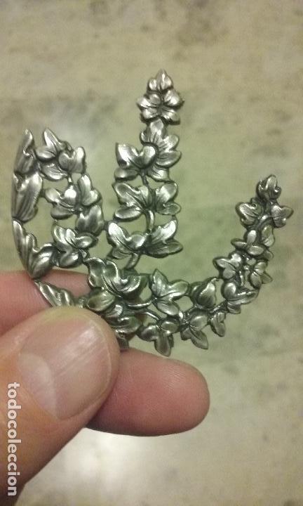 Joyeria: Apliques de plata para caja o joyero - Foto 3 - 120004615