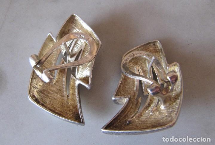 Joyeria: Grandes pendientes de plata sellados - Foto 2 - 120137491