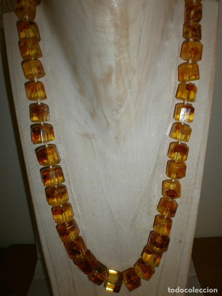 6de265df7dfd collar para mujer réplica ámbar - Comprar Collares Antiguos en ...