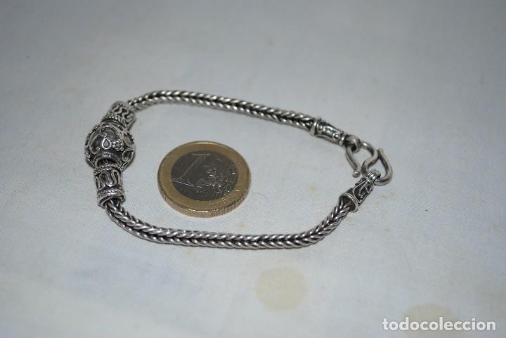 4a8396486dbf moderna pulsera de plata - Comprar Pulseras Antiguas en ...