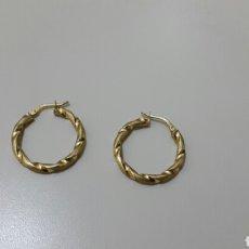Joyeria - Pendientes criollas oro de 18k - 120547083