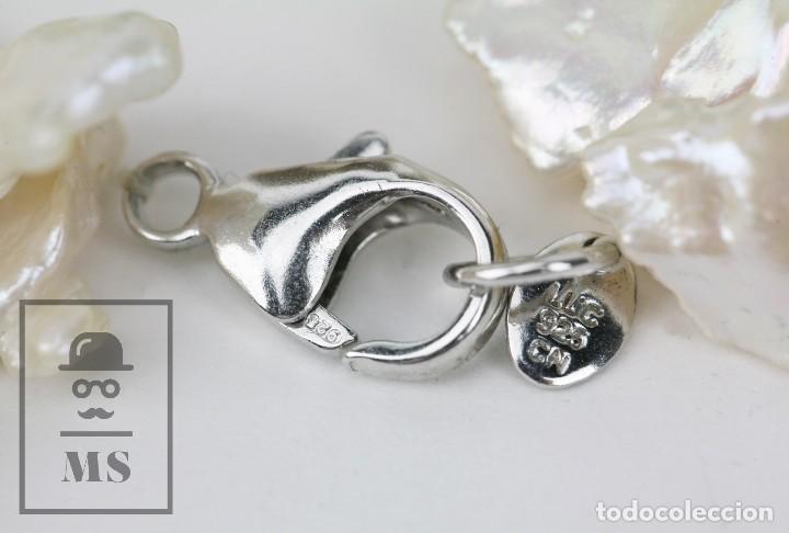 Joyeria: Collar de Perlas Barrocas Cultivadas y Cristales Tallados - Lucas Lameth, Plata 925 Milésimas - Foto 13 - 121235347