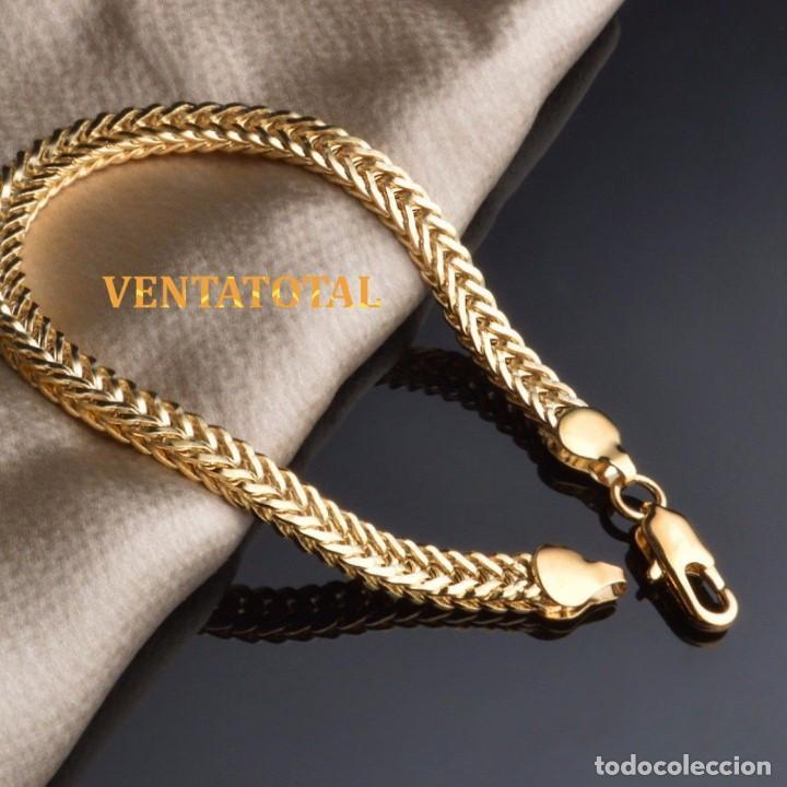 6b537af4a080 pulsera esclava vintage de oro amarillo de 18 k - Comprar Pulseras ...