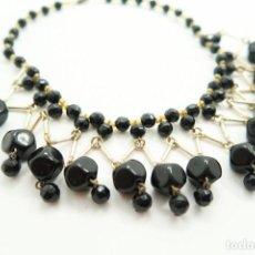 Jewelry - antiguo Colgante gargantilla de Azabache - 121921395