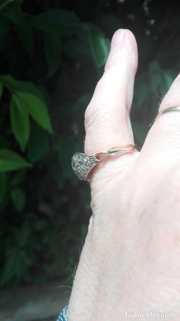 Joyeria: c1905 exclusivo hecho a medida Tu y Yo 20kt quilates Oro Blanco y Amarillo, diamantes y Rubíes. - Foto 6 - 120576515