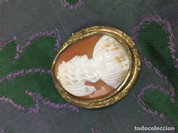Joyeria: Antiguo camafeo de concha tallada - Foto 4 - 122340067