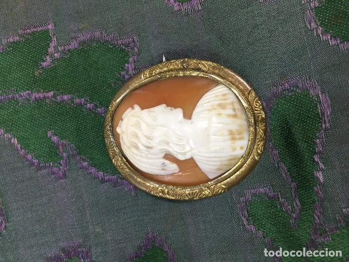 Joyeria: Antiguo camafeo de concha tallada - Foto 5 - 122340067