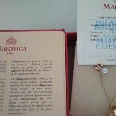 Joyeria: JUEGO DE PERLAS MAYORICA. Lote 122631358